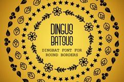 Dingus Batsus, a dingbat font for making borders Product Image 1