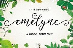 Emelyne Script Product Image 1