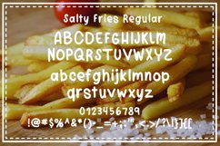 Salty Fries Font Trio Product Image 4