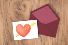Hand drawn valentines clipart bundle Product Image 3