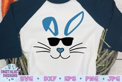 easter svg, bunny svg, easter bunny svg, bunny sunglasses Product Image 1