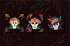 Mexican Day Of The Dead vector illustrations Product Image 3