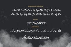 Misty Black Stylish Bold Script Font Product Image 6