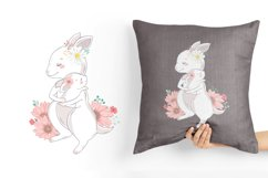 Family illustration / Mom and baby Product Image 3