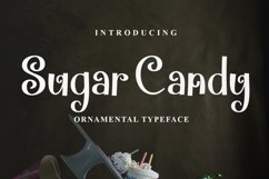 Web Font Sugar Candy Product Image 1