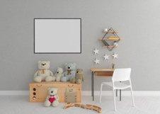 Interior mockup - blank wall mock up - nursery room Product Image 2