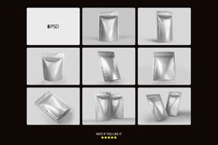 Foil Pouch Bag Mockup Product Image 2