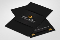 Vertical Ribbon Business Cards  Product Image 2