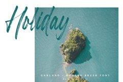 Garland - Modern Brush Font Product Image 6