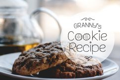 Cookie Font Product Image 2