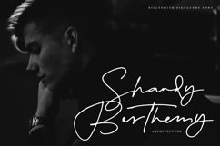 Billy Smith - Signature Font Product Image 2