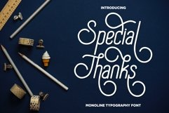 Special Thanks Product Image 1