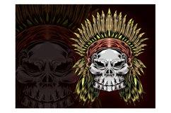 skull vector design Product Image 3