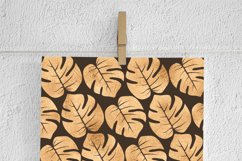 Copper Palm Leaves Paper Product Image 2