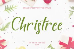 Christree - Handwritten Christmas Product Image 1