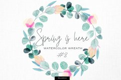 Spring is here. Floral wreath #3 Product Image 1