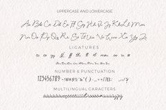 Acrillia elegant signature font Product Image 5