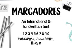 Marcadores Product Image 1