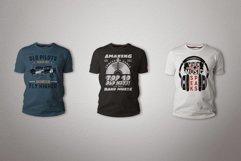 T-Shirt Designs Bundle SVG Retro Sublimation Pack. Part 1 Product Image 6