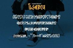 Web Font Theatrica - Playfull Monoline Font Product Image 5