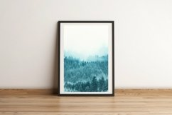 Snow Forest in Fog - Wall Art - Digital Print Product Image 3