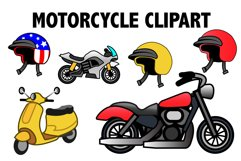 Motorcycle Clipart Product Image 1