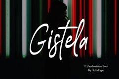 Gistela | Handwritten Font Product Image 1