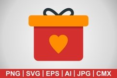 Vector Gift Icons Product Image 1