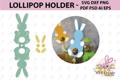 Lollipop holder template, candy holder, easter gift Product Image 1