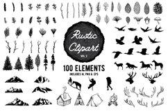 Rustic Clipart Designs Vol 2 Product Image 1