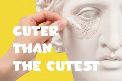 Web Font Micetto - Fun Display Font Product Image 5