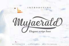 Mujaerald Font Product Image 1