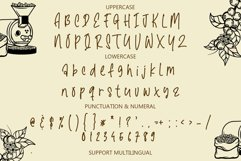 Santtoria Mood - A Quirky Monoline Font Product Image 4