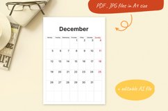 Printable Calendar. 2022 monthly planner sheets A4 Product Image 2