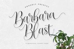 Barbara Blast || Beautiful Script Font Product Image 1