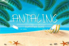 Antaling Summer Font Product Image 1