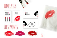 Red lips kit Product Image 4
