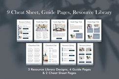 Workbook Canva Template, 60 Pages Ebook Template Lead Magnet Product Image 5