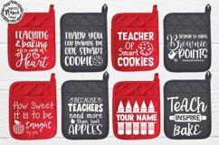 Teacher Pot Holder Svg Bundle Product Image 1