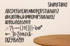 Shiny Table - Quotable Handlettering Font Product Image 4