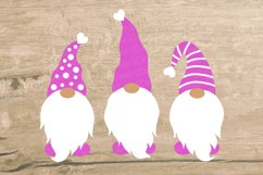 Valentine's Day Gnomes SVG with decorative hats Product Image 3