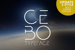 Cebo Typeface Product Image 1