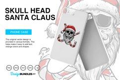Skull Head Santa Claus Vector Illustration Product Image 5