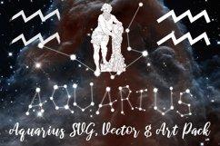 Aquarius Zodiac, Constellation, Horoscope Pack Product Image 1