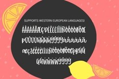 Tuti Fruiti Font Bundle- Handwritten Font 6 Pack Product Image 4