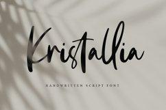 Kristallia - Bold Handwritten Script Product Image 1