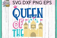 Queen Of The Sand Castle SVG DXF PNG EPS Cutting Files Product Image 2