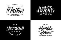 Hillbear - Handbrush Script Font Product Image 3