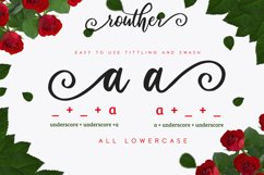 routher - beautiful script font Product Image 4