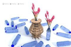 Eco friendly pot- laser cutting file Product Image 3